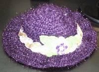 کلاه بنفش